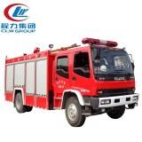 10CBM ISUZU Foam Water Fire Fighting Trucks