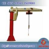 5t rotary jib arm crane