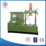 Vertical valve testing bench