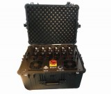 Portable Multi Band High Power VHF UHF Jammer for Military and VIP Vehicle Convoy Prote...