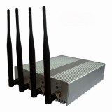 4 Antenna Cell Phone Signal Blocker with Remote Control
