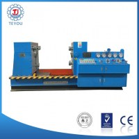 Clamping valve test bench