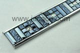 SUS with electroplated glass decor trim,tile trim,border