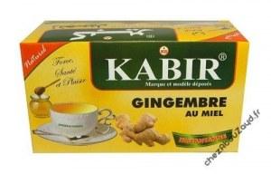 Infusion the gigembre au miel kabir algerie
