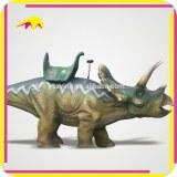 KANO0008 Amusement Park Realistic Animal Dinosaur Ride For Kids