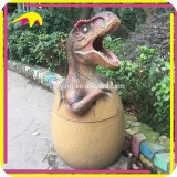 KANO4044 Theme Park Decorative Animated Dinosaur Dustbin