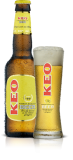 KEO LAGER BEER 4.5 % ( BOTTLED 24 X 330 ml )