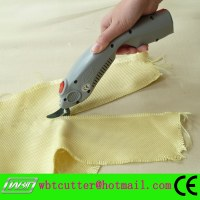 Electric scissors for cutting kevlar