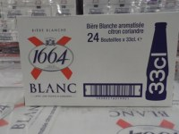 Kronenbourg 1664 Blanc Beer 24 x 330ml