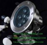 Waterproof LED underwater light, garden pool LED spotlight, decorative outdoor lighting...