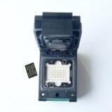 Flash Programmer Adapter LGA52 TO DIP48 Pogo pin IC Test Socket With Board Burn in Sock...