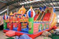 Cheap commercial giant inflatable slide/inflatable dry slide/inflatable slip n slides for sale