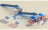Block machine, interlocking pavers