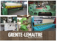METALWORKING MACHINES FOR EXPORT