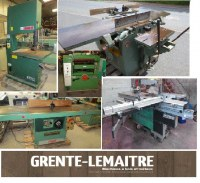 USED WOODWORKING MACHINES FOR EXPORT