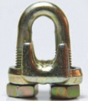MALLEABLE WIRE ROPE CLIPS, TYPE A