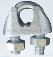 MALLEABLE WIRE ROPE CLIPS, TYPE B