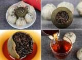 Mandarine Verte de Pu Er Pu Erh Cuit Shu Thé Parfumé