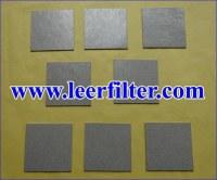 Metal Powder Filter Plate