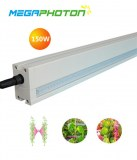 Megaphoton 150w 8ft LED Interlighting grow light for greenhouse lighting projects
