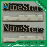 Trademark aluminum letter label name plate costomized logo metal label metal tag sel adhesive nam...