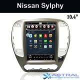 Vertical Screen Central Multimedia Nissan Sylphy GPS Navigation Factory