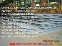 Offer:NM400 Abrasion Resistant Steel Sheet