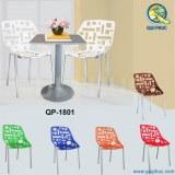 Plastic Chair Metal Legs