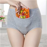 Special design panties with pocket for tummy warm women Period time adult waterproof Pa...