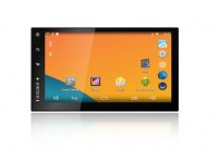 Android4.4 4core car navigation NU3001 2din 7inch touch screen 1024600 car radio cd he...