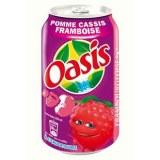 OASIS POMME CASSIS FRAMBOISE - PACK DE 24x33CL