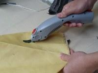 Cutting kevlar fabric
