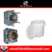 Plastic injection paint bucket mould with high quality
