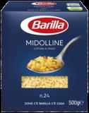 Palette Barilla Midolline