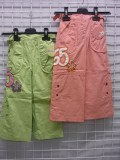 END OF STOCK - GIRLS SUMMER PANTS AT 2 EUROS