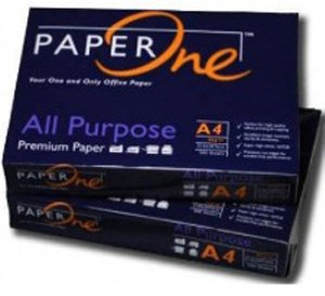 PAPER ONE PREMIUM PAPER A4 80GSM/75GSM/70GSM 102-104%