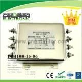PE4100-15-06 15A 250V/440VAC UPS emi emc filter