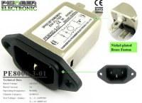 PE8000-3-01 3A 120V/250V emi emc filter for dart machine
