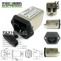 PE8100-1-01 1A 120V/250V electrical line electromagnetic filter for computer