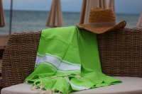 "Manufacturer and wholesaler beach towel ""Fouta"" 100% cotton"