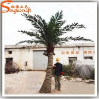 China suppiler names of leaves in india factory price artificial coconut tree wholesale