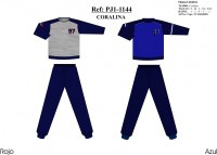 ASSORTED PAJAMAS LOT 24 UNITS PACK COMPOSITION: S / 4 M / 8 L / 8 XL / 4 ASSORTED...