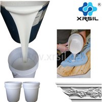 Rtv liquid silicone rubber for making gypsum molds