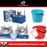 Plastic injection bucket mould with high quality
