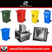 Plastic injection dustbin mould with high quality