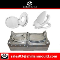 High qualtiy plastic injection toilet seat cover mould