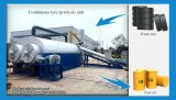 High efficiency fully automatic waste tire pyrolysis plant