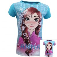 12x Short Sleeve T-Shirts Frozen 2 to 8 years