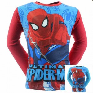 12x Spiderman Long Sleeve T-Shirts from 2 to 8 years old