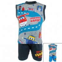 10x 2-piece sets Super Wings from 3 to 24 months